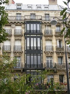 Paris aparment: a balcony in Paris to watch those fabulous sunsets and hear those church bells... Heaven to me