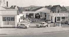Old French Esso Station & Garage