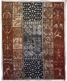 John Pule Painting Patterns, Print Patterns, Tapas, Tiki Hawaii, Maori Designs, New Zealand Art, Vintage Tiki, Nz Art, Maori Art
