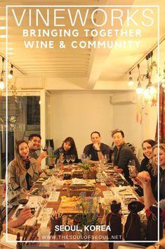 Vineworks: Interactive Wine Tasting in Seoul