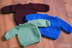 Ravelry: Sweater for (Waldorf-) Dolls, Babies - english version pattern by Daria Schulte