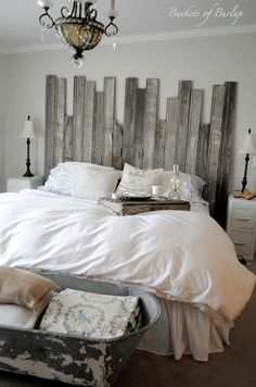 Staggered Barnwood