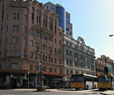 Bus Mall, public transport in #Hobart. Photo and article for think-tasmania.com #Metro #Tasmania