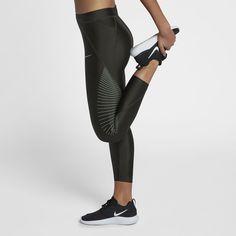54b75e51668db2 Women's Nike Sprinter Running Midrise Capri Leggings in 2019 | Products | Capri  leggings, Nike women, Golf outfit