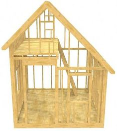 Free Wood Shed Plan Birdhouse Plans Woodworking 10x10 Shed Plans, Small Shed Plans, Wood Shed Plans, Small Sheds, Shed Building Plans, Diy Shed Plans, Building Ideas, Shed Windows, Shed With Loft