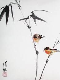 Image result for chinese painting bamboo