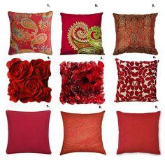 organizing decorative pillows httphighlifestylenetwp content - Red Decorative Pillows