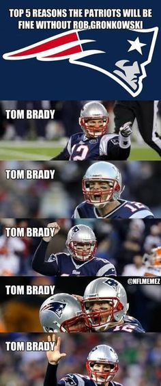 Tom Brady could do that #Patriots #Humor