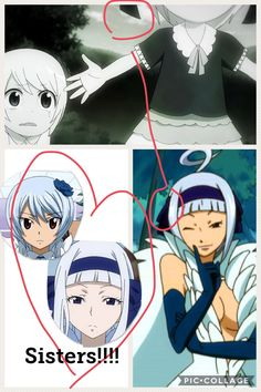Yukino and angel are sisters