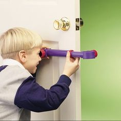 """This cool Under Cover Spy Scope has specially designed lenses that allow you to see around almost anything.    The top of the scope extends to a full 14"""" tall so you can hide behind a chair, door or other object and see what's happening on the other side!     An essential piece of spy equipment for any detective who wants to go under cover."""