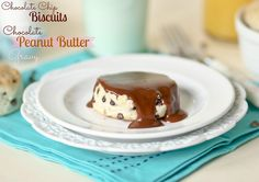 Chocolate Chip Biscuits with Chocolate Peanut Butter Gravy - Confessions of a Cookbook Queen