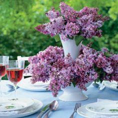 Lilac Arrangement by #marthastewart