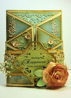 "Card by Gini Williams Cagle - Cheery Lynn Designs, Riddersholm Designs paper, Clearsnap ink, Xyron Mega Runner, Xyron 1.5"" Create a Sticker, Xyron 9"" Creative Station"