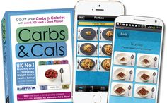 Carbs & Cals is a visual carb and calorie counter book and app, using over 3,500 food & drink photos to clearly show you the nutrients in your meal.