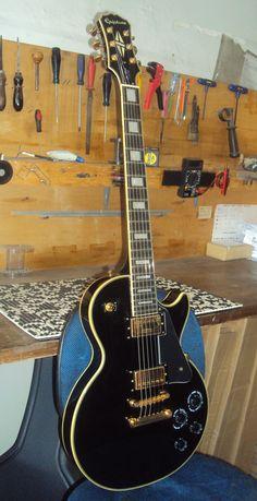 Guitarra Epiphone Les Paul - Regulagem geral de afinação - Oficina das Guitarras Mozart