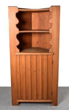 Axel Einar Hjorth. Corner cabinet in pine. Manufactured for NK in Stockholm.