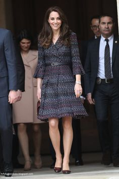 The Cambridges' first stop was a particularly important one. They visited Les Invalides - a complex of buildings in the 7th arrondissement of Paris containing museums and monuments, all relating to the military history of France. 18 Mar 2017