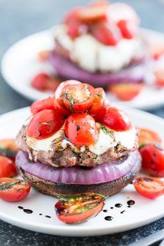 Caprese Turkey Burgers | Get Inspired Everyday!