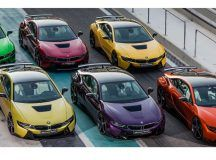 #BMW Abu Dhabi #i8 Color Wraps