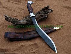 """15"""" Sirupate Eagle Kukri Knife"""