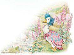 Letter Paper : The World of Peter Rabbit - Beautiful Peter Rabbit Art Wallpaper 17