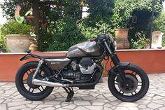 1987 Moto Guzzi 850 T5 by Edoardo Virgili, Rome - Italy 1