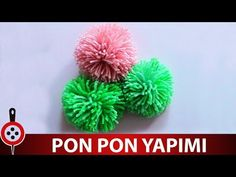 Ponpon Yapımı | Pompom veya Ponpon Nasıl Yapılır ? - YouTube