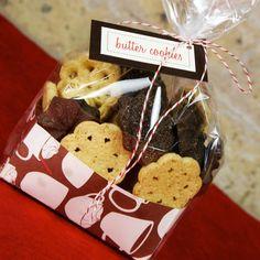 50 Formas de empaquetar las galletas de Vacaciones: Ideas e Inspiración Para Que envuelven los Regalos de la galleta - bystephanielynn