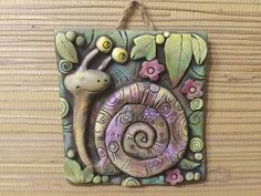 Clay Tiles, Ceramic Clay, Fimo Clay, Polymer Clay Art, Clay Projects, Clay Crafts, Clay Magnets, Mushroom Art, Paperclay