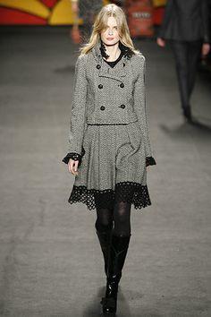 Anna Sui Fall 2006 Ready-to-Wear Fashion Show - Julia Stegner