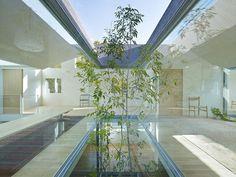 牙醫上班很近,一個屋簷下的日本住家&牙醫診所❤ pic via tomohiro hata architect and associates