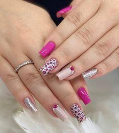 Manicure Y Pedicure, Nail Inspo, Cute Nails, Nail Designs, Nailart, Hair Beauty, Nail Polish, Make Up, Instagram