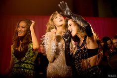 Backstage photos by Kevin Tachman @ Victoria's Secret Fashion Show 2013 Gloves fashion.
