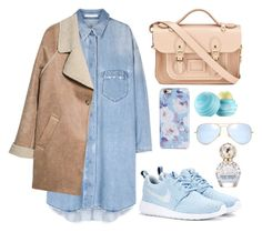 """""""Untitled #26"""" by t-k-amie on Polyvore featuring MANGO, The Cambridge Satchel Company, Isaac Mizrahi, Eos, Ray-Ban, NIKE, Marc Jacobs, women's clothing, women's fashion and women"""