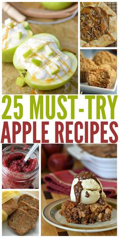 Looking for some delicious apple recipes? Check out our list of 25 Must Try Apple Recipes here