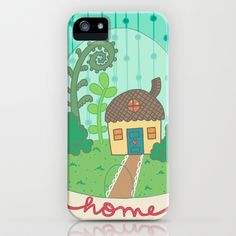 Tiny [gnome] Home iPhone & iPod Case by Amy Proff Lyons - $35.00