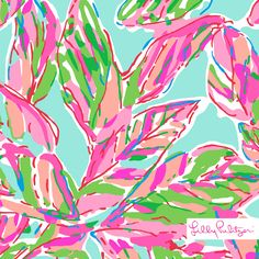 Lilly Pulitzer In the Vias Print