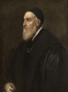 TITIEN - Autoportrait - 1565-1570 - Prado