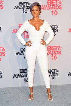 LisaRaye's White Hot Style - 18 Times LisaRaye Stopped the Show in All White