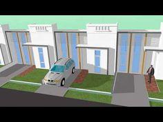 Berikut adalah beberapa disain rumah yang akan melengkapi site plan yang kami disain:                TIPE 30               TIPE 36          ... How To Plan, House, Home, Homes, Houses