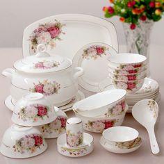 56 pieces a sets kupper bone china dinnerware set bone china fashion rich tall bowls square & 23 Pieces of German Blue and White Dinnerware | Blue \u0026 White ...