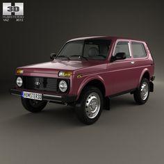 4X4 2012 Lada 3D Model - 3D Model