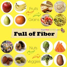 Like if you boost your fiber intake with fruits, veggies, whole grains and beans! How much fiber does your child need? Find out!