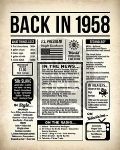 Back In 2006 Printable Newspaper Poster 2006 Birthday Sign First Class Stamp, Vintage Newspaper, Newspaper Cover, Engineer Prints, D 40, Last Minute Gifts, Last Minute Birthday Gifts, Birthday Gifts For Grandma, Grandma Gifts