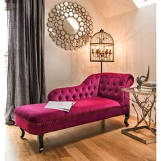 celebrities furniture chaise lounges in retro purple design for the home, buy now at out cool retro online shop England stamford, London, New York, Oakham. Living Room Modern, Living Room Sofa, Living Room Designs, Living Room Decor, Bedroom Decor, Sofa Design, Furniture Design, Interior Design, Furniture Buyers