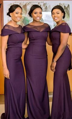 South African Dark Purple Bridesmaids Dresses Summer Boho Garden Wedding Guest Gowns Maid of Honor Plus Size Dress Cheap #Bridesmaiddresses #Bridesmaiddress  #Weddinggowns #wedding #weddings #bridal #weddingdress #bride #fashion #Bohobridesmaiddress #Formaldresseslong #Floralbridesmaiddresses #Cheapbridesmaiddresses