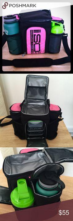 Isolator Fitness meal management bag Isolator Fitness 4-6 meal management  cooler bag. Slightly 3668e01e5ae40