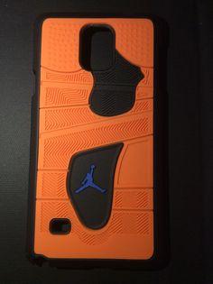"Jordan Retro ""Knicks"" 4 Phone Case"