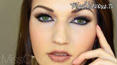MissChievous.tv: Tutorial: Cat Eyes / Katzenaugen
