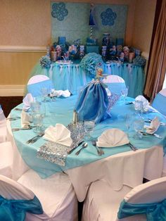 Frozen First Communion Party Ideas   Photo 9 of 18   Catch My Party